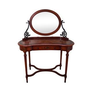Theodore Alexander Hand Painted Vanity & Mirror