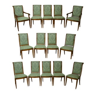 Henredon Charles X Collection Dining Chairs - Set of 14
