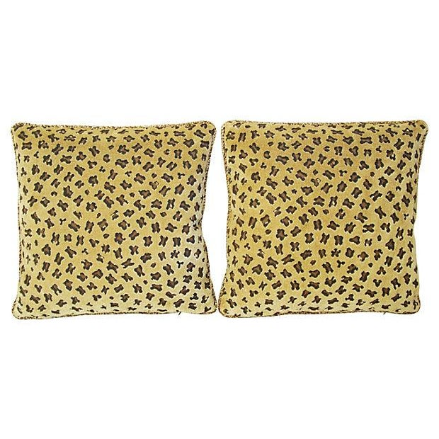 Rogers & Goffigon Gattopardo Pillows - A Pair - Image 8 of 8