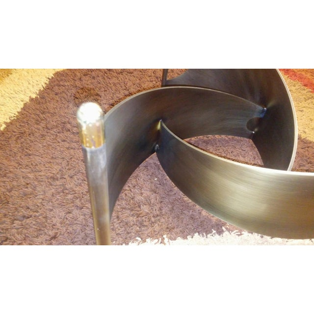 Mid-Century Propeller Base Coffee Table - Image 9 of 9