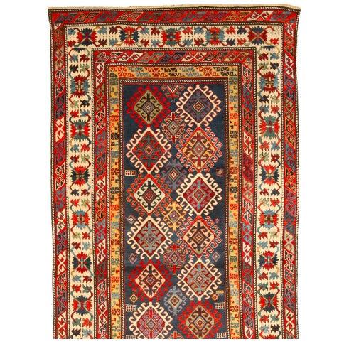 Antique Caucasian Shirvan Runner - Image 1 of 1