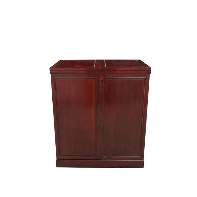 Rosewood Bar and Cabinet - Image 2 of 6