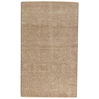 Indian Hand-Knotted Rug - 3' x 5'
