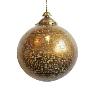 Brass Work Ball Lantern
