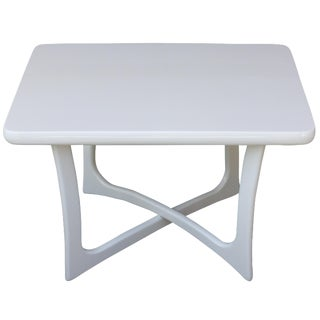 Adrian Pearsall White Lacquer Table