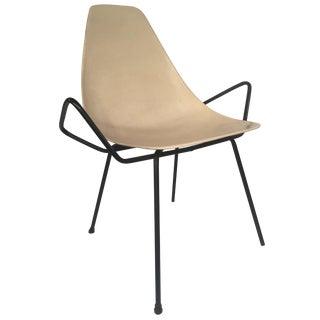 Unusual Fiberglass Chair - Possible Pierre Guariche Prototype