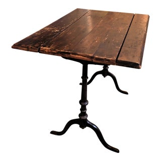 Authentic French Bistro Table Desk