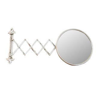 Antique Fleur De Lis Barber Mirror