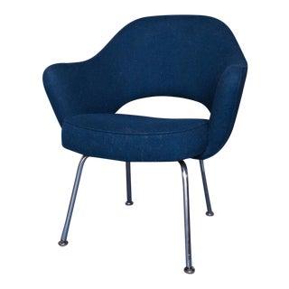 Knoll Navy Blue Executive Armchair