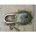 Image of Bronze Turtle Mystery Lock