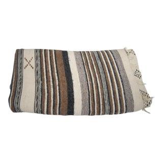 Handwoven Alpaca Wool Boho Chic Blanket