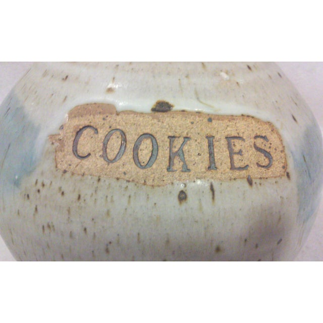 Mid-Century Studio Pottery Stoneware Cookie Jar - Image 7 of 8