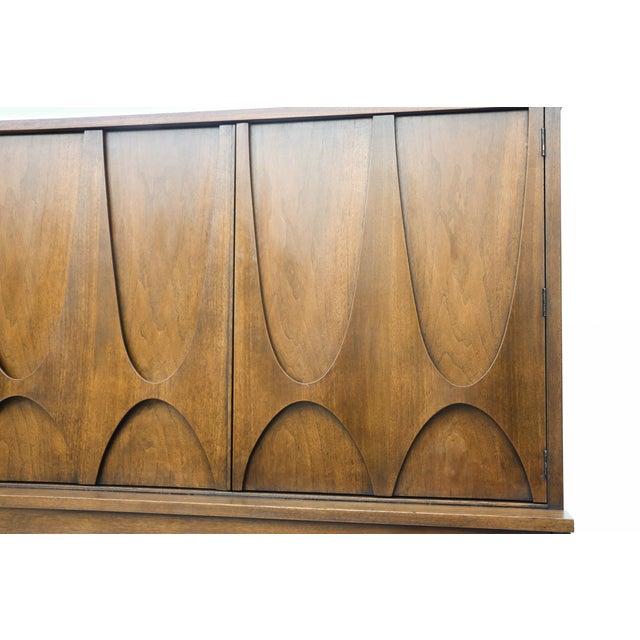 Mid-Century Brasilia Broyhill Highboy Dresser - Image 8 of 10