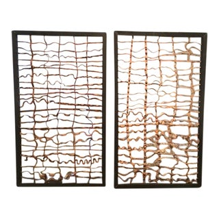Rubber Wood Panel Dividers - A Pair