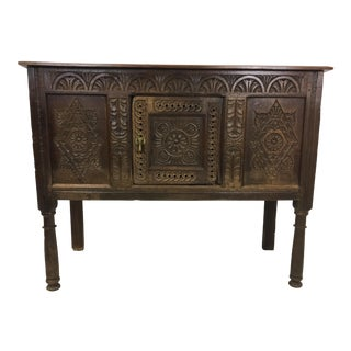 18th C. French Carved Oak Sideboard