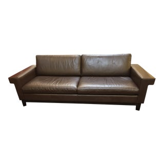 Ted Boerner for Design Within Reach Leather Sofa