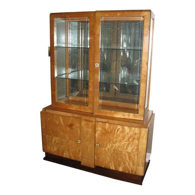 Image of Vintage Mid Century China Cabinet/Display Bar
