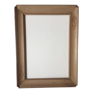 Mid-Century Asian Cloud Motif Frame