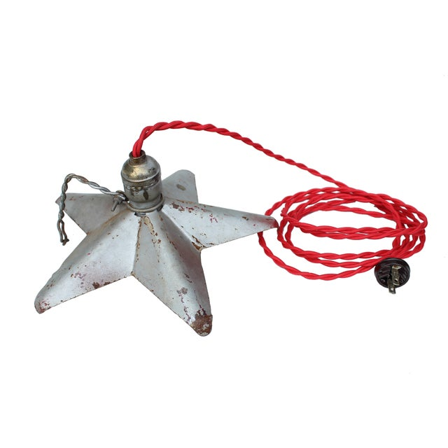 Image of Aluminum Star Pendant Light