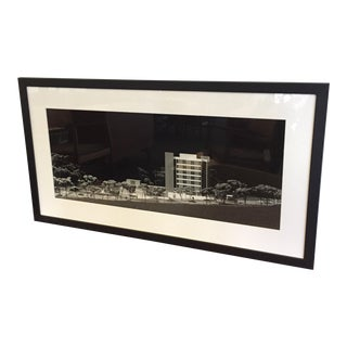 Architectural Model Framed Photo by Keith Kolb