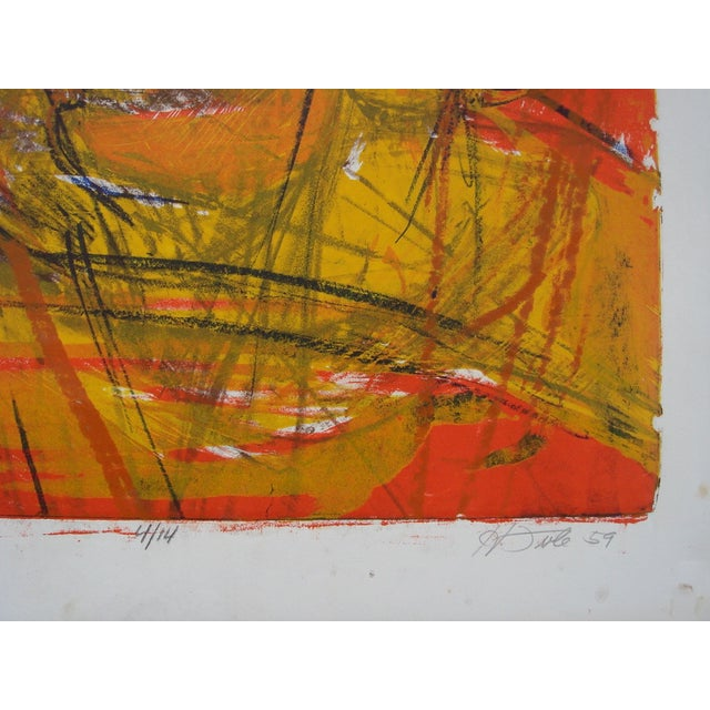 1959 San Francisco Abstract Expressionist Print - Image 3 of 3