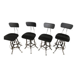Restoration Hardware Toledo Counter Stools - Set of 4