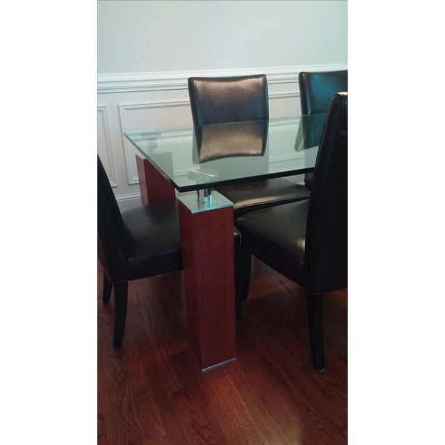 Modern Glass Dining Table From Bova - Image 3 of 8