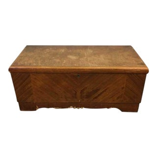 Lane Red Cedar & Veneered Walnut Chest