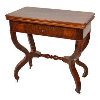 Fine Louis Philippe Card Table