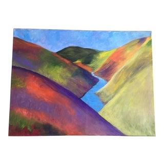"""""""Wild Flowers in Bloom"""" Oil Painting"""