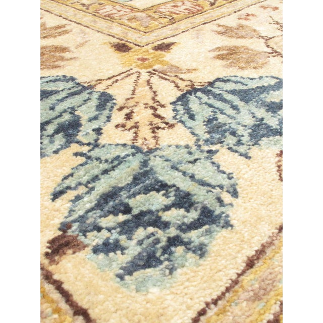 """Hand-Knotted Chobi Twisted Indian Rug - 9'1"""" X 12' - Image 2 of 2"""