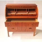 Image of Mid-Century Dresser With Roll-Top