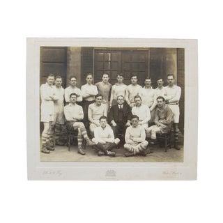 Original Vintage English School Soccer Photograph