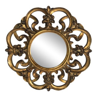 Contemporary Gold Gilt Mirror