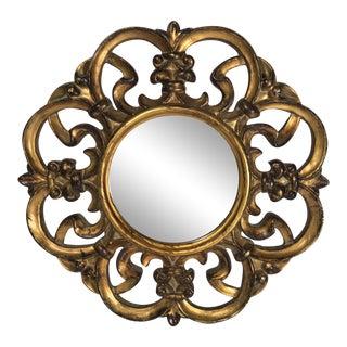 Contemporary Gold Gilt Mirror