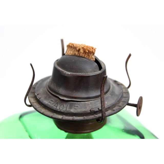 Antique Egale Oil Lamp - Image 4 of 5