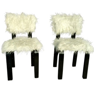 Thonet Wooly Mammoth Children's Chairs - A Pair