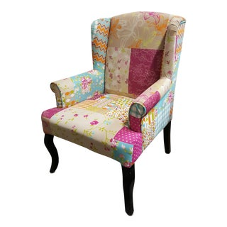 Vintage Style Patchwork Chair