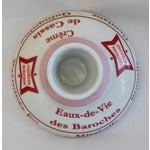Image of Early 1900s French Porcelain Match Striker & Holder