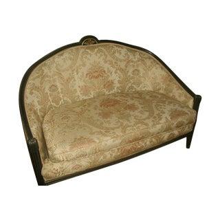 Italian Carved Settee Parlor Sofa