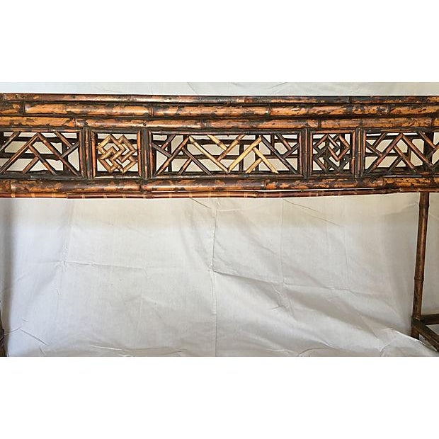 Early 19th Century Chinese Bamboo Altar Table - Image 3 of 7