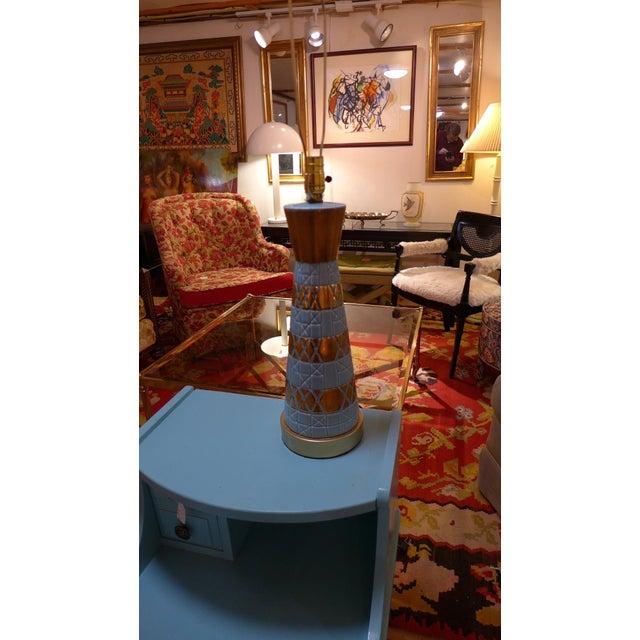 Midcentury Ceramic Table Lamp - Image 5 of 6