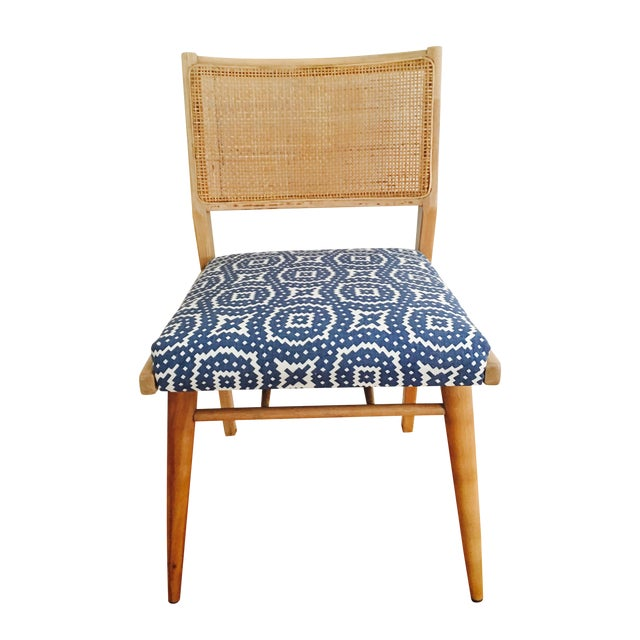 Boho Mid-Century Modern Cane Chair - Image 1 of 6