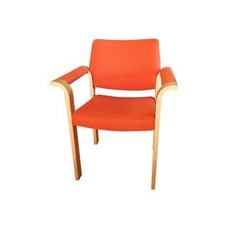 Mid-Century Orange Danish Arm Chairs - 5