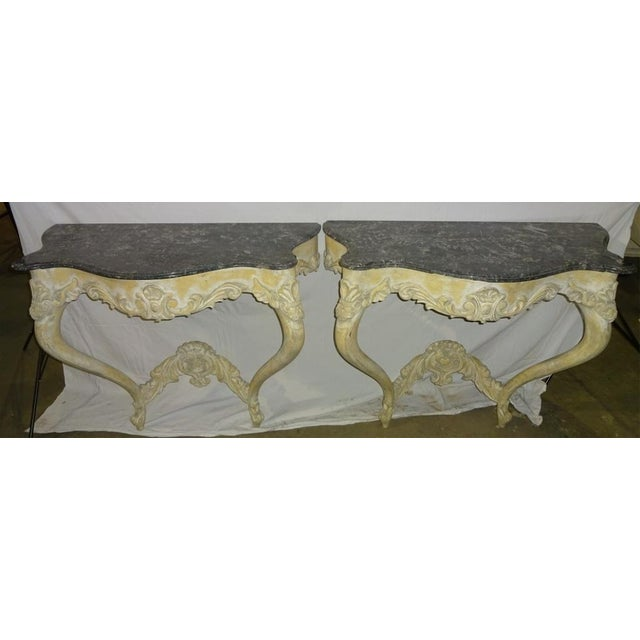 Image of Italian Console Tables - A Pair