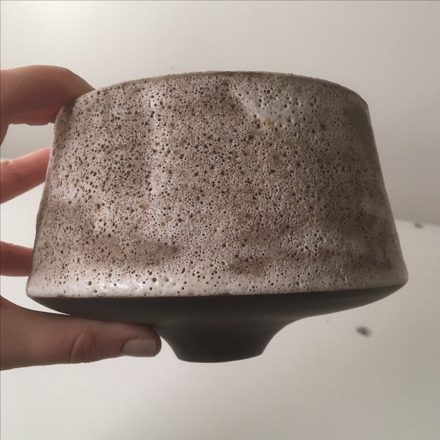 Small Stoneware Planter or Vase - Image 6 of 6