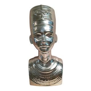 Silver Egyptian Nefertiti Statue
