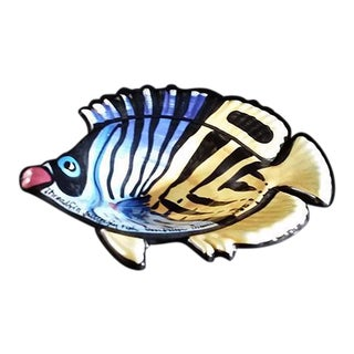 Ben Diller Threadfin Butterfly Fish Bowl