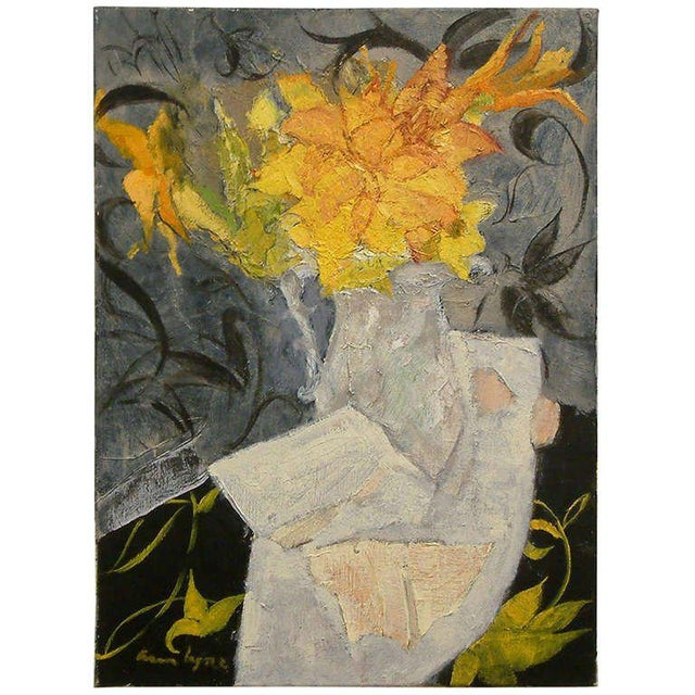 """""""Lace & Lillies"""" Oil on Linen - Image 5 of 5"""