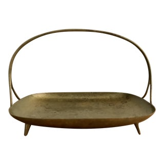 Brass Tray with Handle